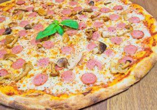 Pizza-Wustel